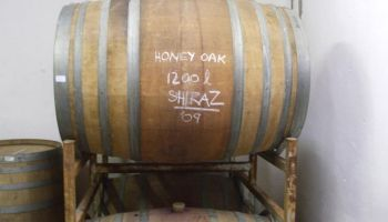 Our first Honey Oak Shiraz is maturing in Oak Barrels; we patiently await the release of our first wine in the summer of 2010.